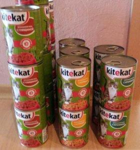 Корм Kitekat для котов и кошек