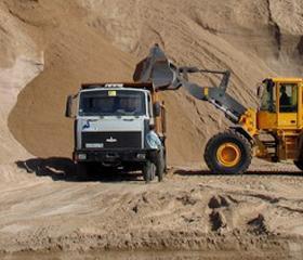 Песок карьерный, песок намывной