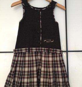 Школьная форма платье+юбка