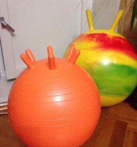 Мяч массажный, гимнастический (фитбол)