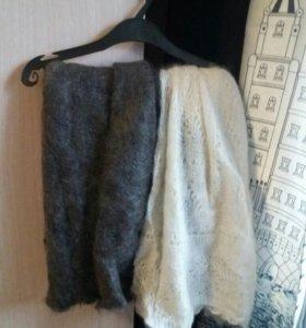Продаю шарфы теплые на зиму как раз. Все новые