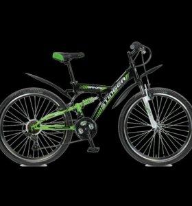 "Велосипед STINGER Banzai 26"", рама 20 (2017)"", чер"