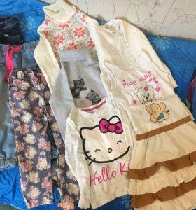 Одежда для девочки 98-104см