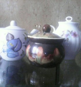 Чайники и сахорница