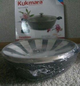 Сотейник литой толстостенный Kukmara