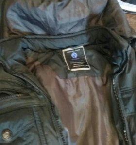 Куртка пуховик мужская