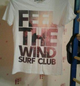 "Футболка ""Feel The Wind"""