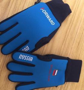 Перчатки зимние фирменные Forward