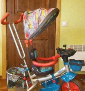 Велосипед с муз.панелью