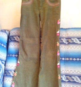 Вельветовые брюки на 12 лет (Джимбори)