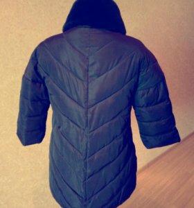 Зимняя удлин. куртка