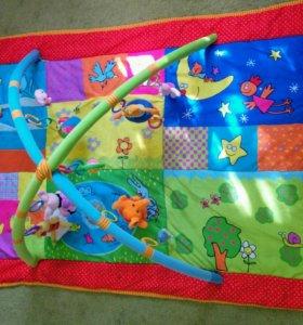 Большой развивающий коврик 1,5м* 1м с игрушкам
