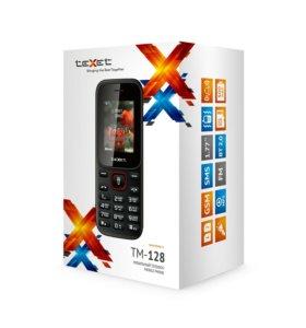 Телефон Texet TM-128 2 сим