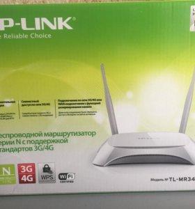 Роутер WI-FI TP-Link с USB