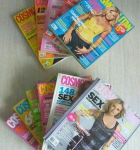 Журналы cosmopolitan mini 2006, 2007, 2008, 2009 г
