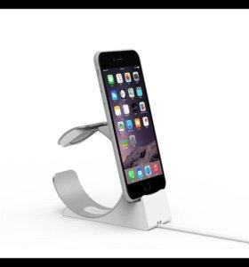 Срочно подставка-зарядка для iPhone+Apple Watch