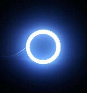 LED огни белые кольца для ПТФ либо ЛИНЗЫ БЛ/дальн.