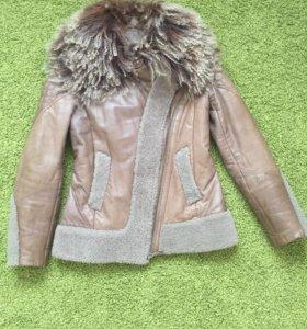 Куртка натуральная кожа и овчина