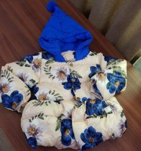 Куртка Демисезон для девочки на рост 110 см