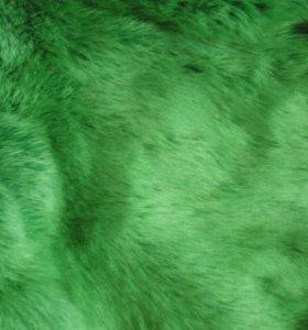Коврик  ковер из натурального меха кролика
