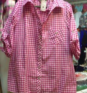 Туники, блузки