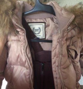 Зимний комбинезон куртка ветровка