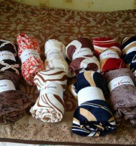Пледы , одеялы , полотенцы