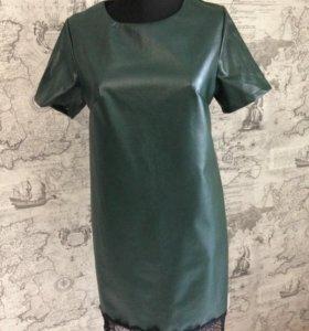 Новое Платье экокожа
