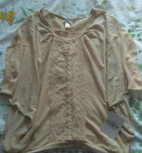 Блуза новая DownEast