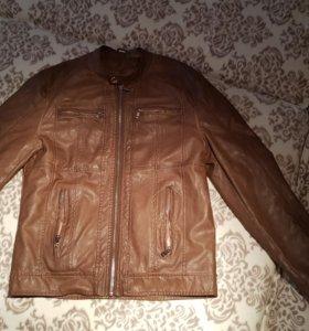 Куртка кожанная демисезон