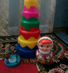 3 развивающие игрушки