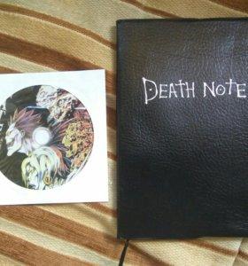 Блокнот Тетрадь смерти (Death Note) + диск с ost
