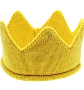 Новая повязка корона для малыша 6-18мес