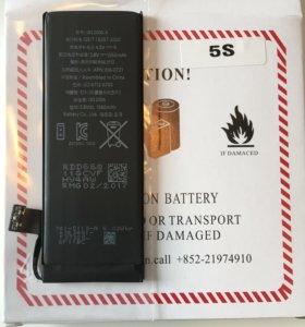 Качественные аккумуляторы на iPhone 5 5S 6 6S