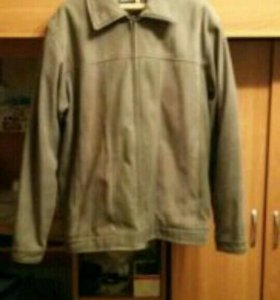Куртка мужская песочная!