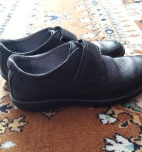 Ботинки д/мальчика р-р34