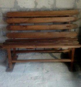 Продам. 2 скамейки для дачи цена за 1 шт.
