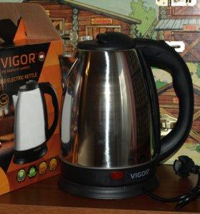 Чайник электрический, Vigor, 1,8 л, 1600 вт.