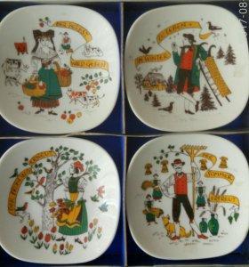 Набор тарелок(мини) Германия