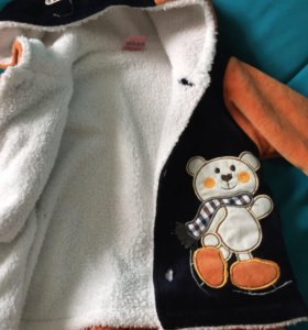 Костюм тёплый на ребёнка от 6 месяцев до 1,3 лет в