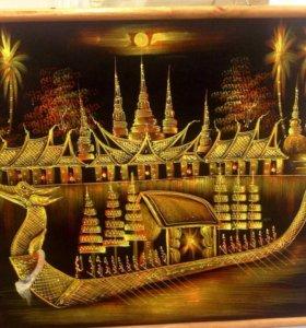 Панно ручная работа ( Тайланд)