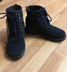 Ботинки зимние 37р