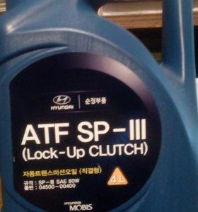 Трансмиссионное масло Hyundai-KIA ATF SP3 4л