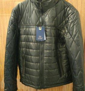 Куртка кожанная Vanzeer (новая)