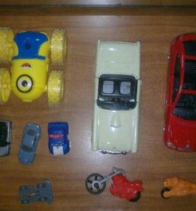 Машинки, мотоциклы