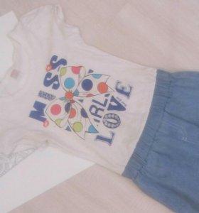 Джинсовые вещи (платье, юбка)