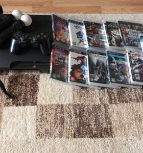 Игровая приставка PlayStation3+ контролеры PS Mo