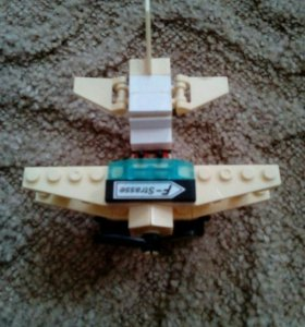 Лего самолет