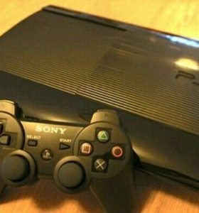 Sony PlayStation 3 Slim 500GB и 3 игры