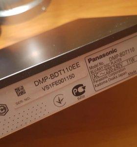 3D Blu-ray плеер Panasonic DMP-BDT110